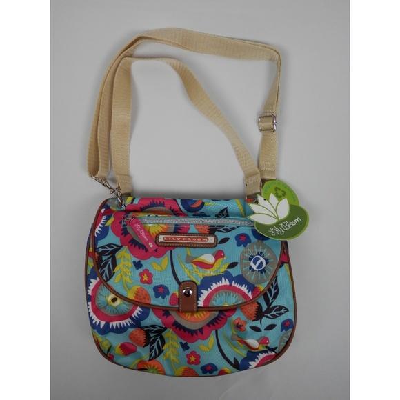 b8bff805bff7 Lily Bloom Bags | Floral Fantasy Quinn Crossbody Bag | Poshmark